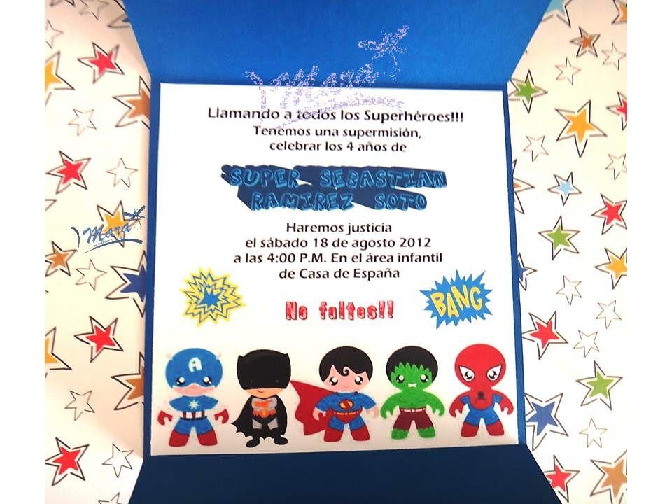 Tarjeta De Cumpleaños Superman Tarjetas De Cumpleaños