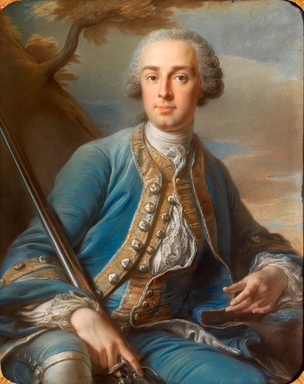 Portrait d'un marquis, 1753 Jean Valade
