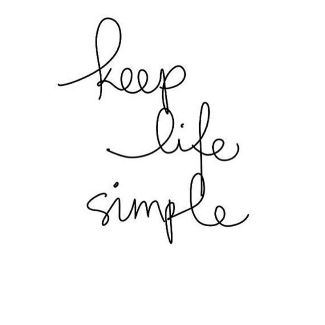 Easy Quotes To Live By: Very Simple. Live Freely. Don't Let Anyone/anything