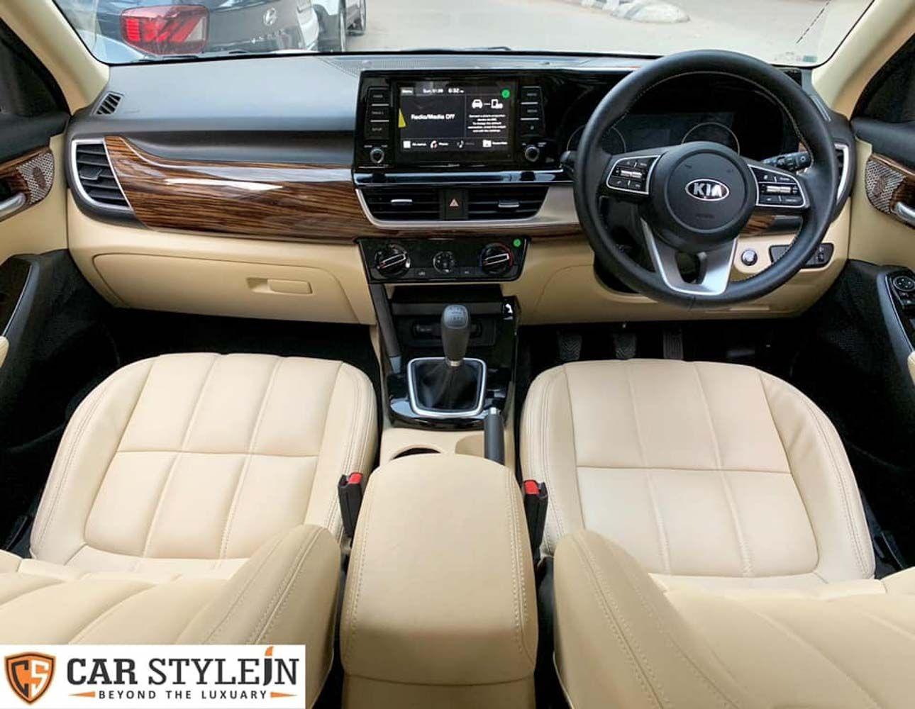 Kia Seltos Customized With Luxurious Cabin Looks Opulent In 2020 Kia Luxury Luxury Interior