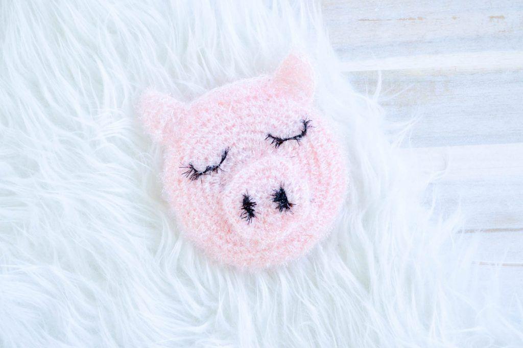 Glücksschweinchen Schwamm Häkeln Und Stricken Pinterest