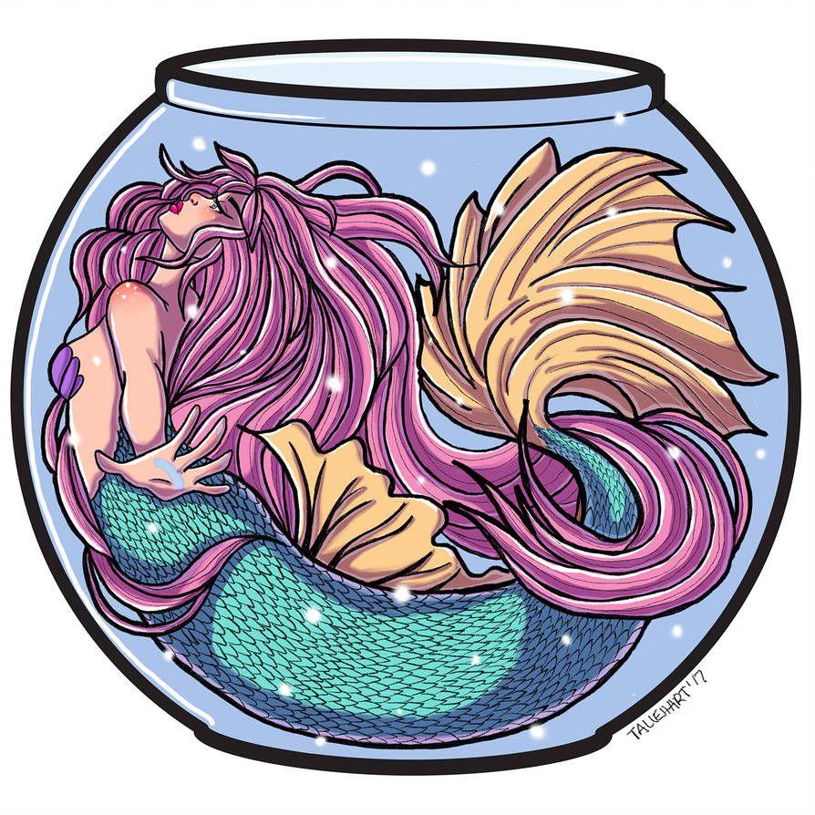 Mermaid in a Fishbowl by