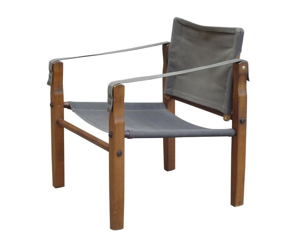 Superieur Safari Chair By Gold Medal Wisconsin Made In USA Arne Norell Style  Midcentury #DanishModern #GoldMedal