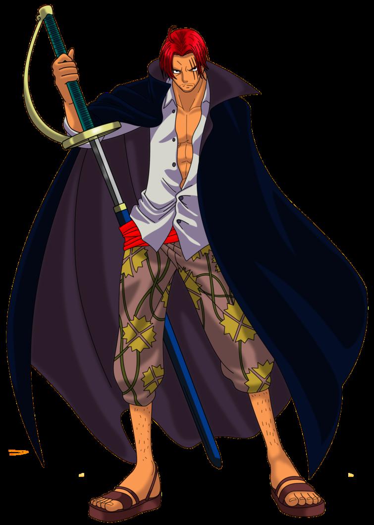 Shanks 2 By Alexiscabo1 Deviantart Com On Deviantart Red Hair Shanks Anime Guy Blue Hair One Piece Anime