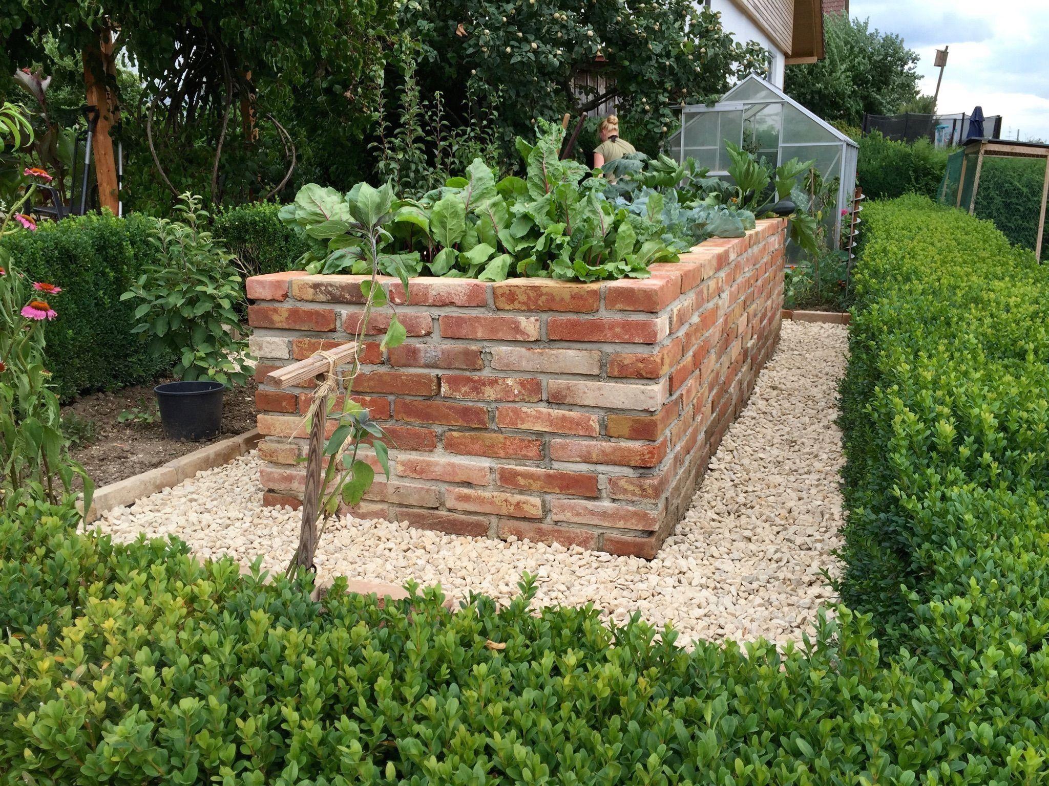 Hochbeet Selbst Gemauert Modern Design Hochbeet Gartengestaltung Garten Hochbeet