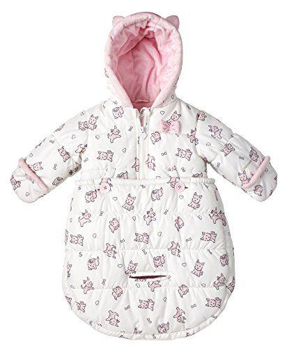 London Fog Newborn Infant Baby Girl Boy Puffer Carbag Pra
