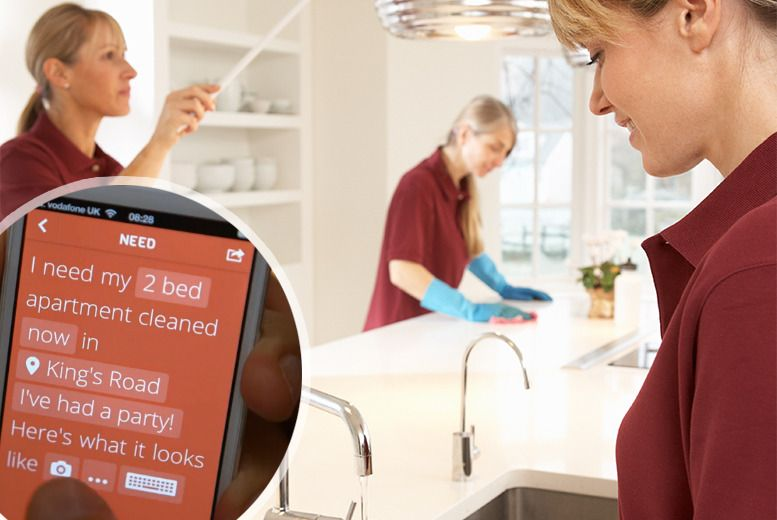 App Cleaning or Handyman Service