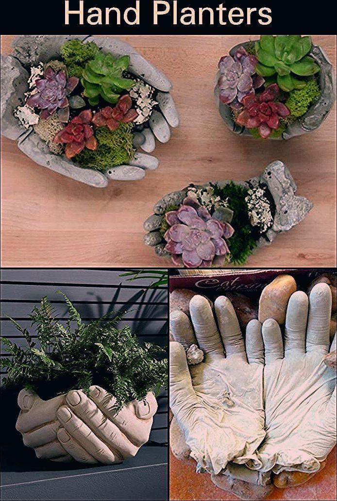 DIY Hand Pflanzer