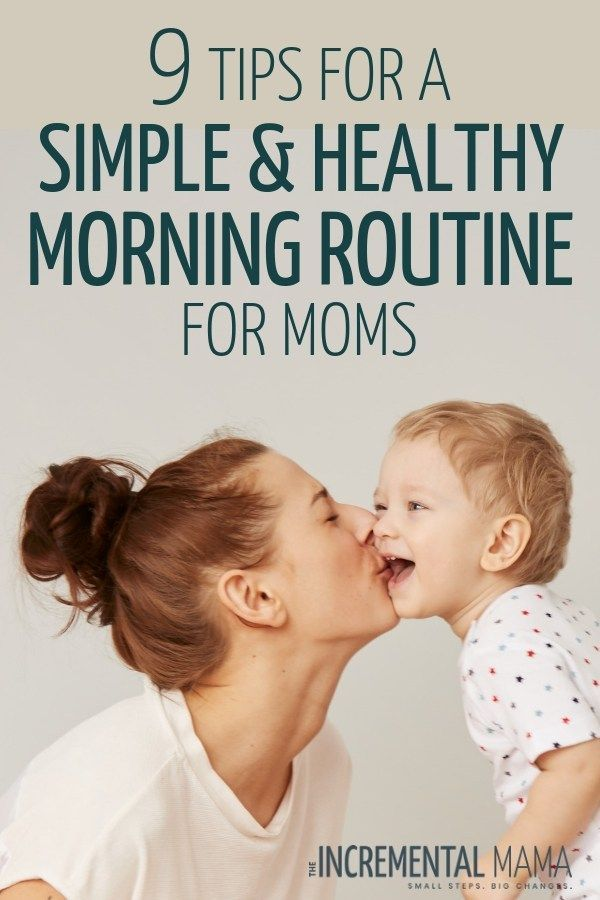 9 Simple Ideas For a Healthy Morning Routine For Moms #morningroutine