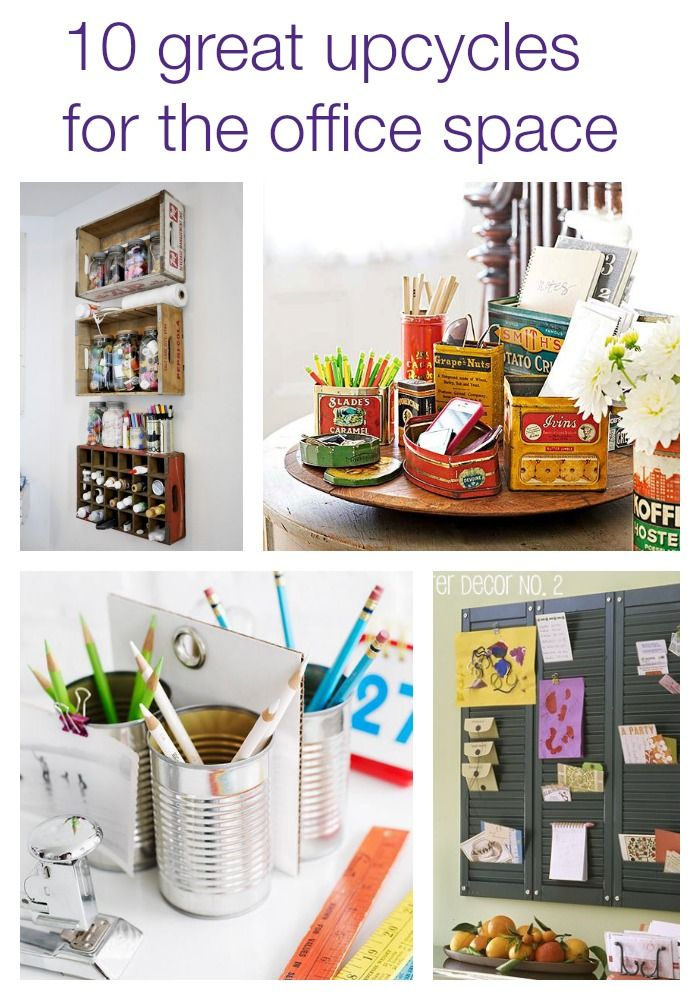 UsedEverywhere | 10 great upcycling projects for the office space - UsedEverywhere