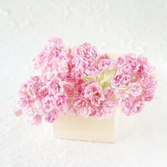 Light Pink Gypsophila Gypso Mulberry Paper Flower Craft Wedding