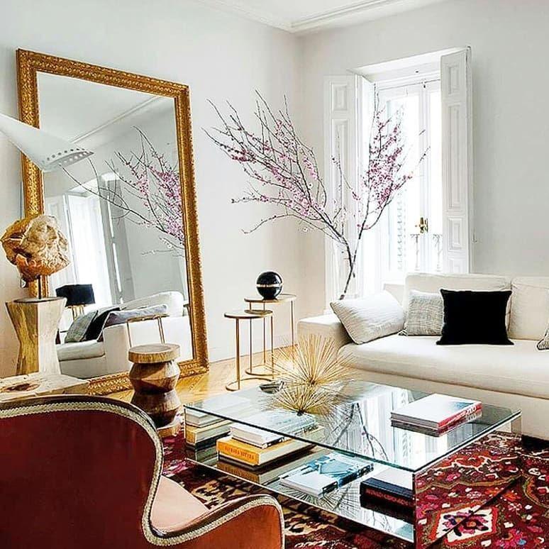Eclectic Via Pinterest Interior Interiordesign Design Designer Interiors White Hom Living Room Designs House Interior Contemporary Living Room Design
