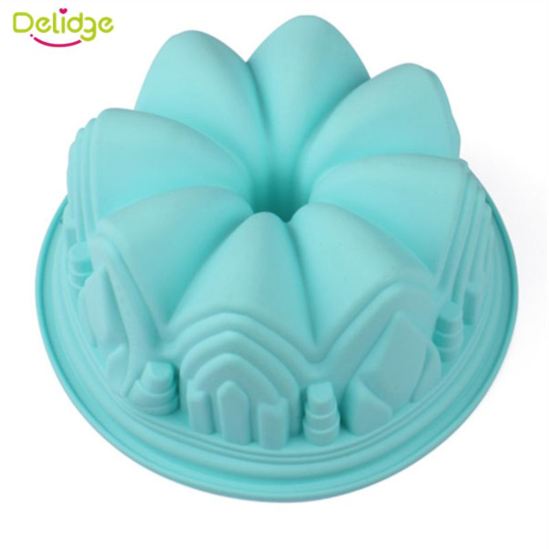 1 pz Big Crown Forma Chiffon Cake Mold Grande Pane Pan Buon Compleanno Savarin Chiesa del Castello Muffa Della Torta Chiffon di Cottura stampo in   1 pcs 3 Holes Cake Decoration Converter Mix 3 Colors Icing Piping Nozzle Converter For Cupcake Nozzle Converter Connecda   su AliExpress.com | Gruppo Alibaba
