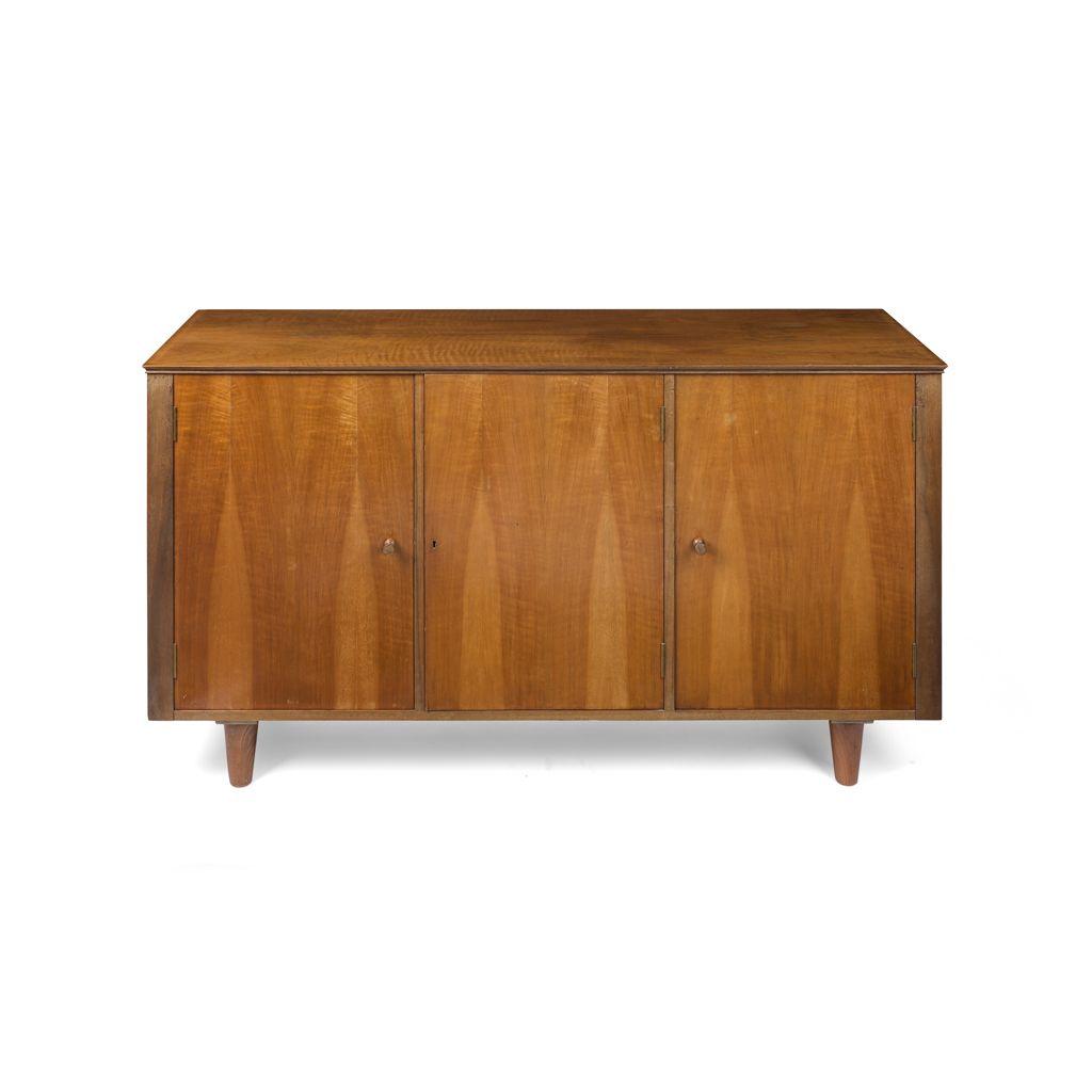 H Morris Co Glasgow Walnut Sideboard 1960s The Rectangular