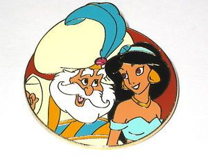 Jasmine, father daughter pin
