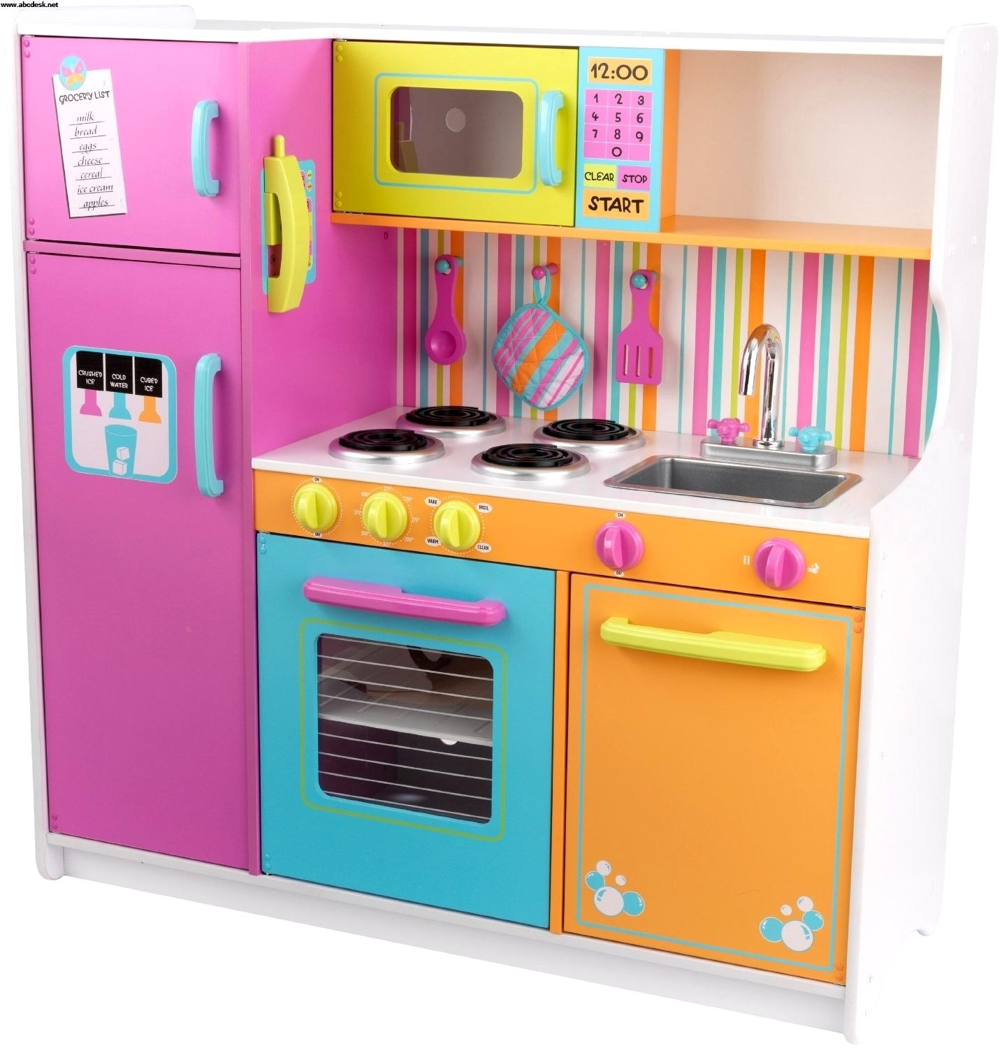 Wooden Kitchen Set For Toddlers With