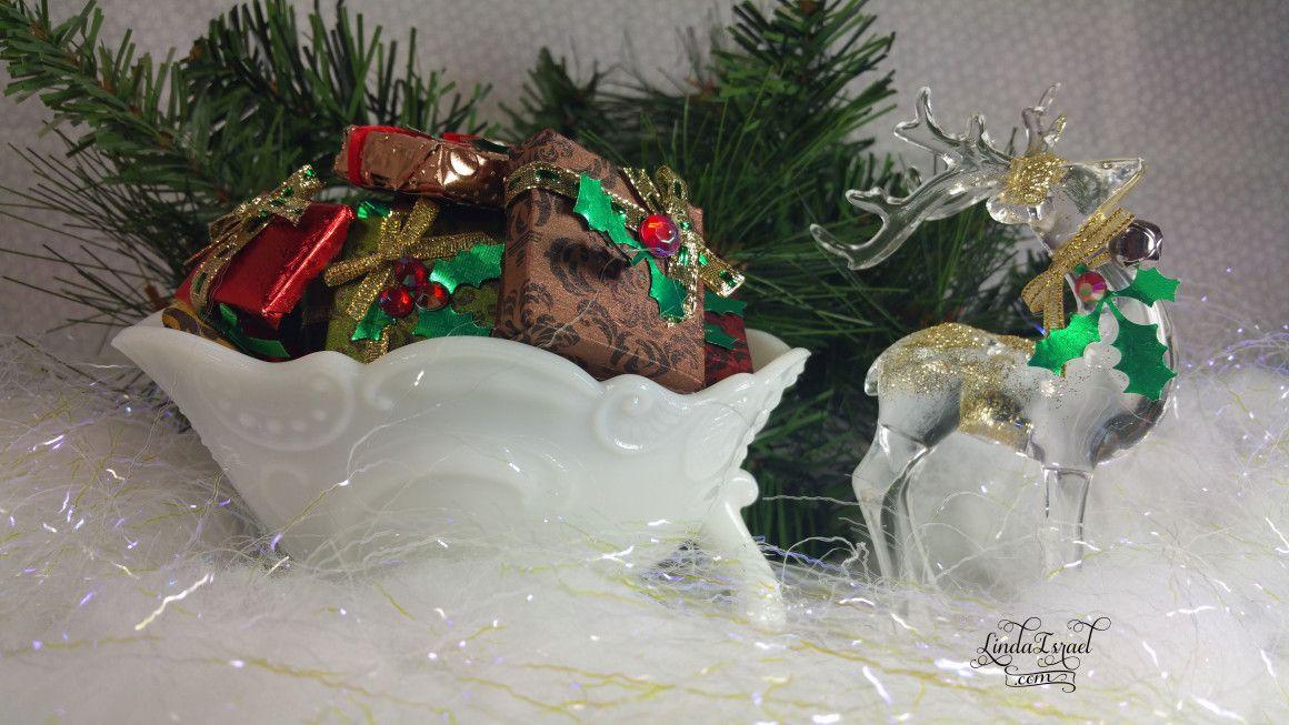 tiny gift wrap box ideas