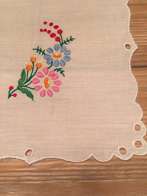 Medium Kalocsai Tablecloth by DucoteArte on Etsy