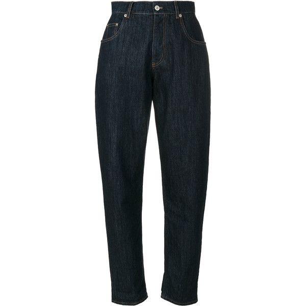 tapered boyfriend jeans - Blue Miu Miu Lowest Price Online Big Sale Sale Online Outlet Prices Wide Range Of Sale Online cfd0fDgC