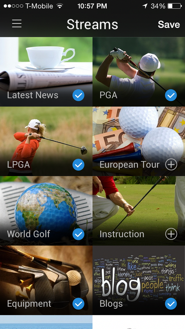 Brdie A One of a kind, new, exciting Golf news app