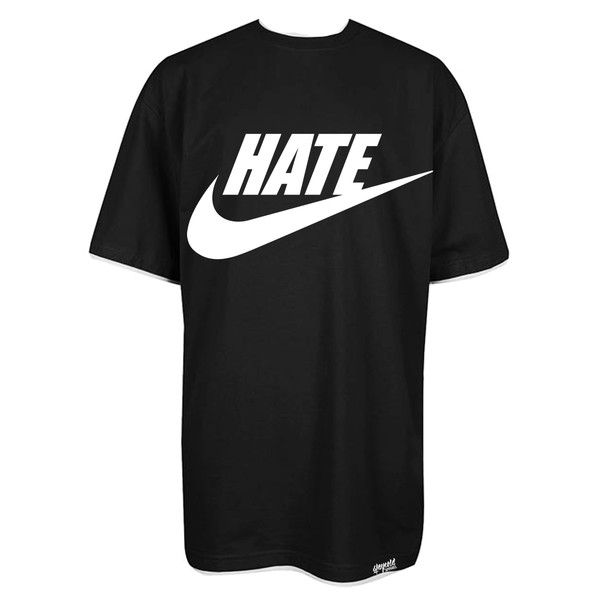 Nike Hate Logo T-shirt Tall Tee Black Stay Cold Long – Stay Cold Apparel