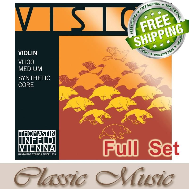 Thomastik Vision Violin String Set (4/4 Full Size)