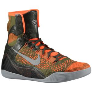 reputable site ef132 13cd0 Nike Kobe IX High - Men s - Bryant, Kobe - Sequoia Rough Green Hyper  Crimson Silver