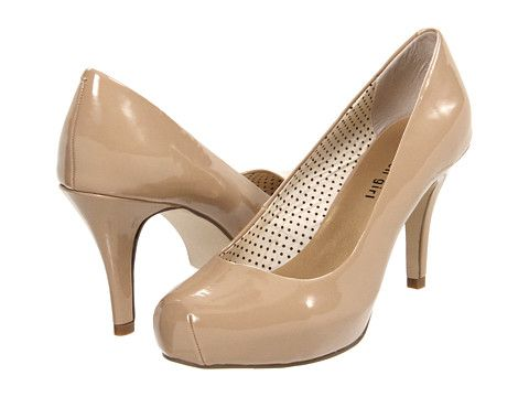 Madden Girl Getta Patent Pump Nude patent pump pairs up with anything when  you cant find