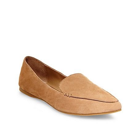 47276b904ca Feather camel suede in 2019 | Flat Shoes | Suede flats, Leather ...