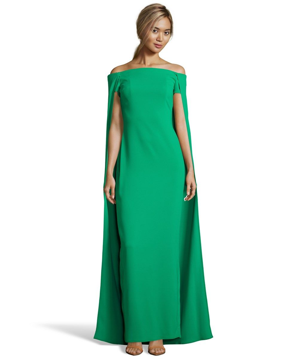 Cape accent gown cape gowns and fashion