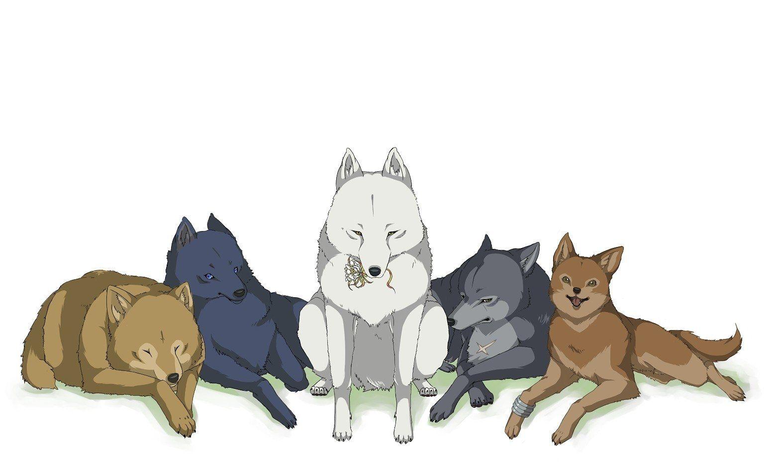 Anime Wolf S Rain Wallpaper Rain Wallpapers Wolf S Rain Wolf Background