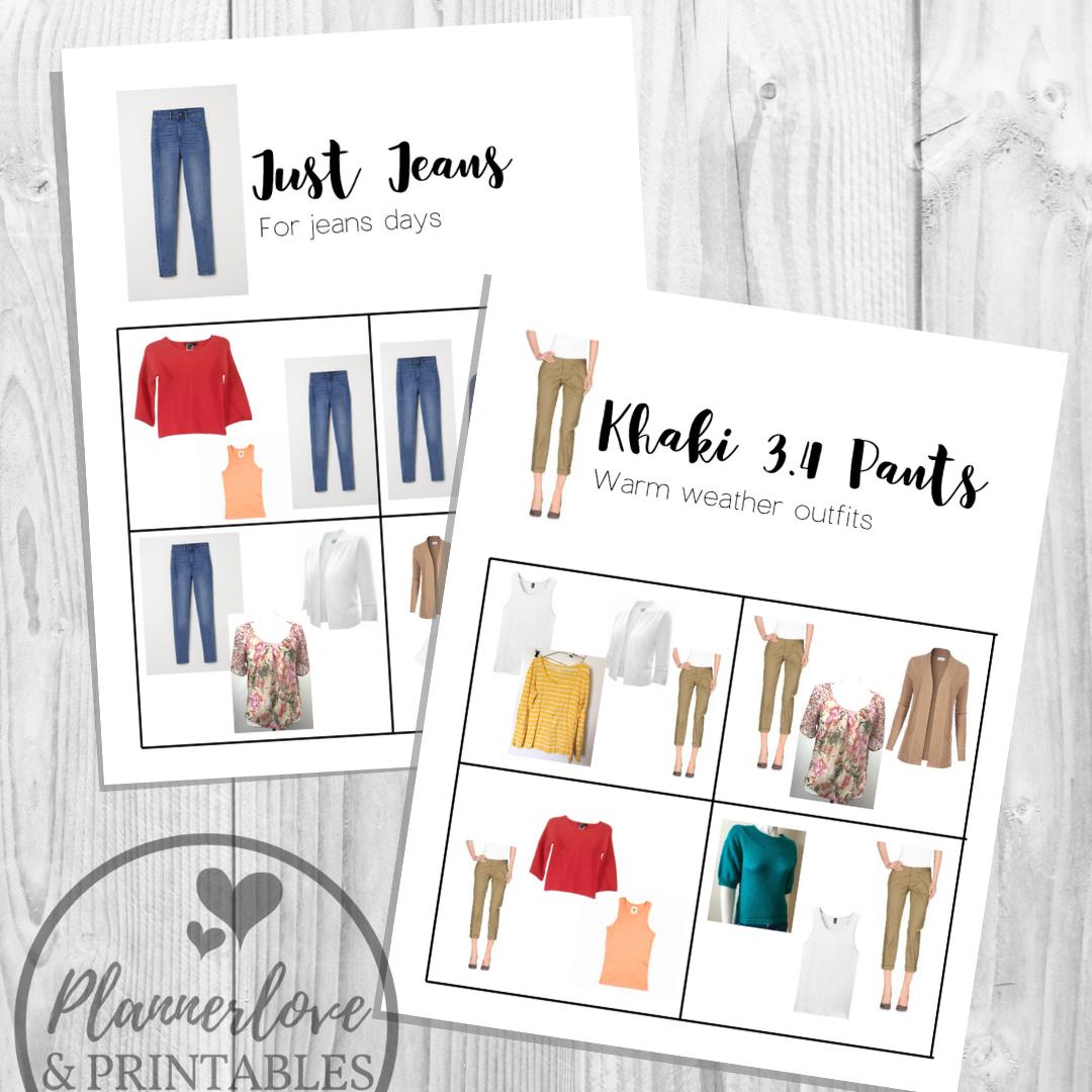 Wardrobe Planner Diy Capsule Wardrobe In 3 Steps With