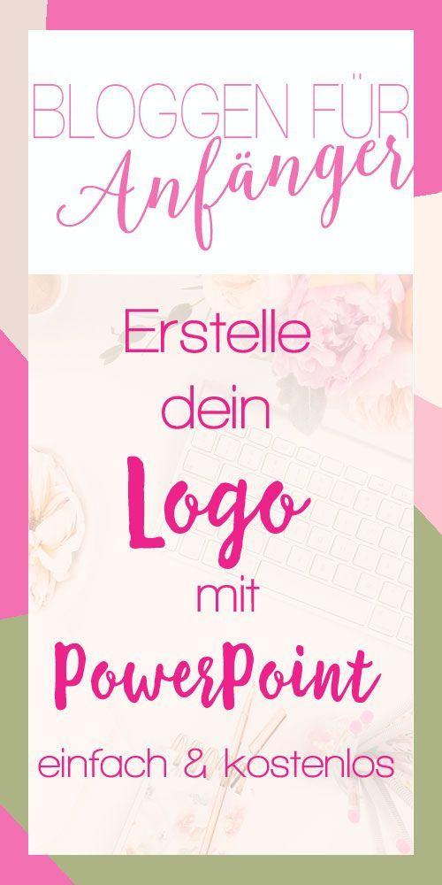 Logo erstellen Tutorial. Einfach und kostenlos Logos