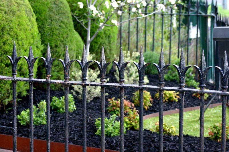 Corten Rusted Steel Garden Edging Contemporary Garden Design By