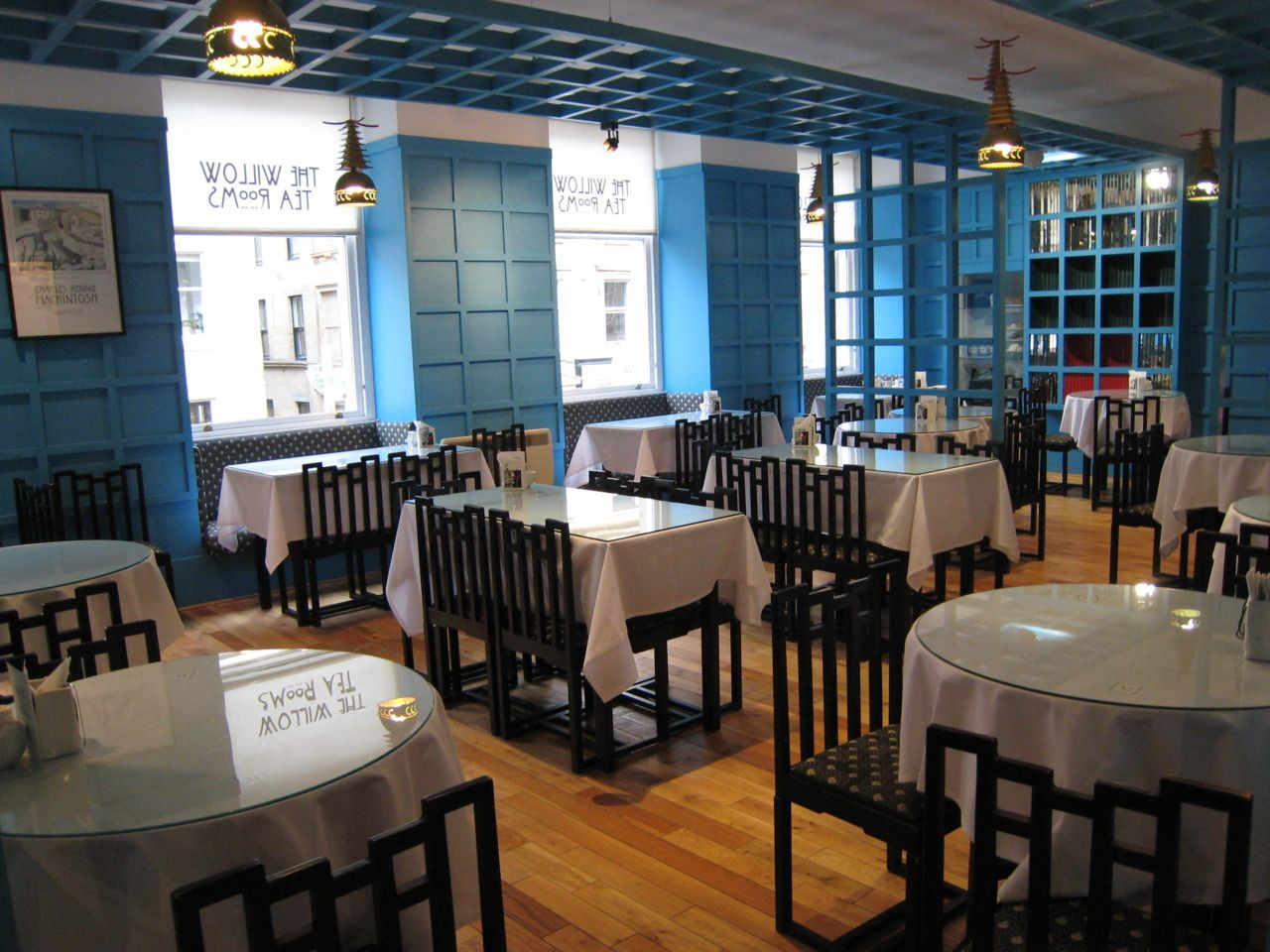 The Willow Chinese Tea Room Mackintosh  Glasgow  Charles Brilliant Willow Dining Room Menu Design Inspiration