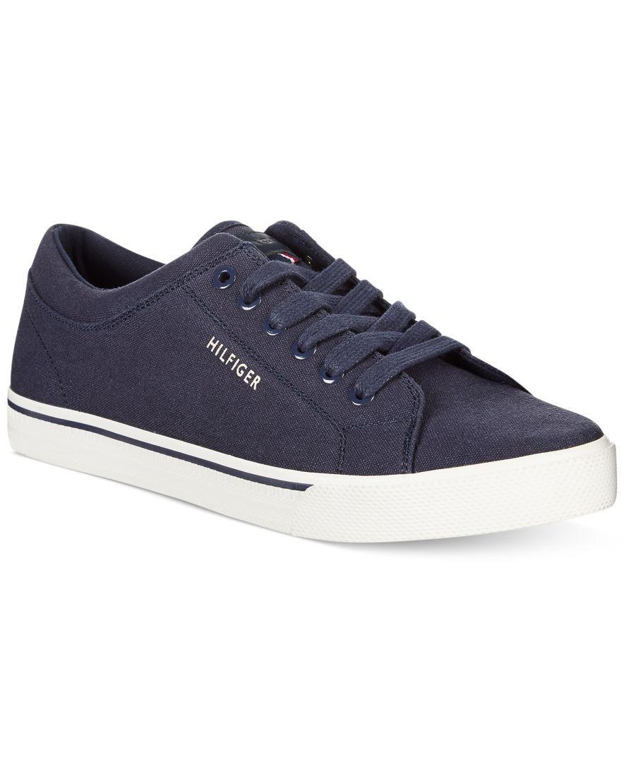 b7d40e743 Tommy Hilfiger Richmond Canvas Sneakers