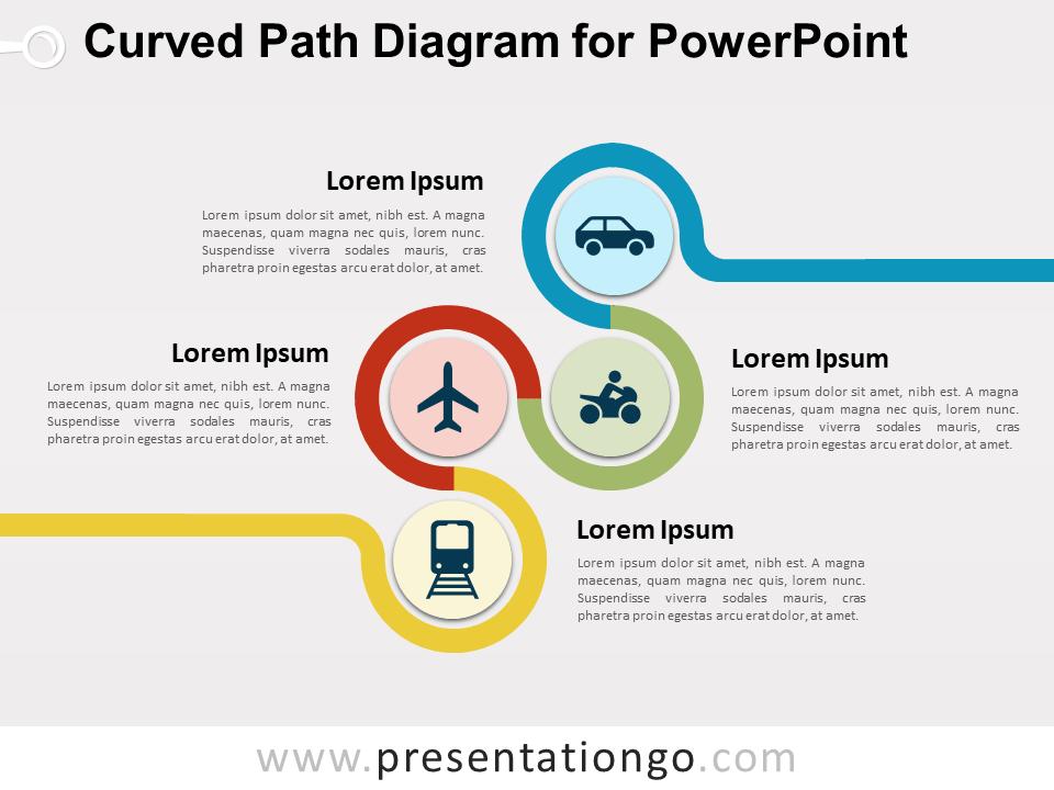 3 step spherical segmented diagram for powerpoint slidemodel.html