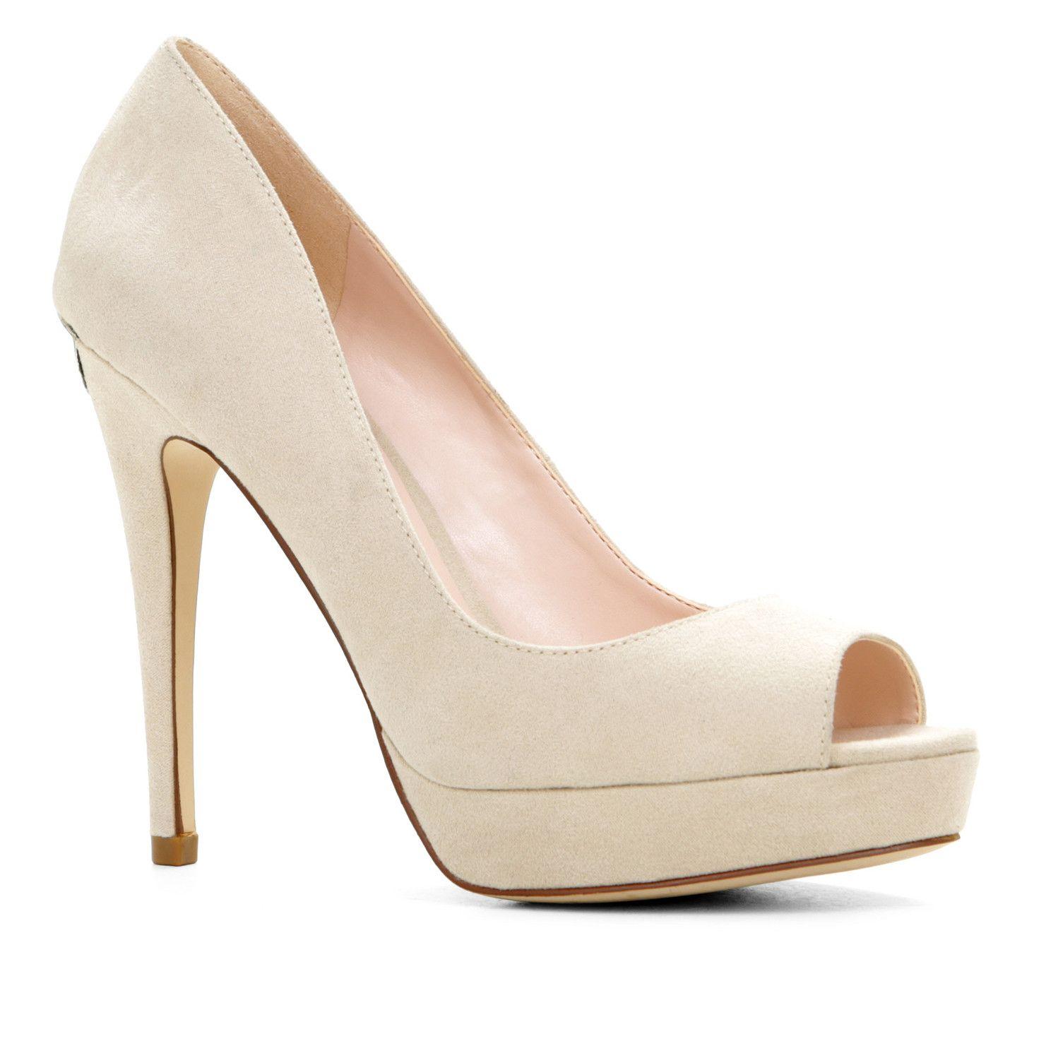 Aldo AOISA pumps, bone suede, 2015 - 01 · Bridesmaid ShoesShoes High Heels Women's ...