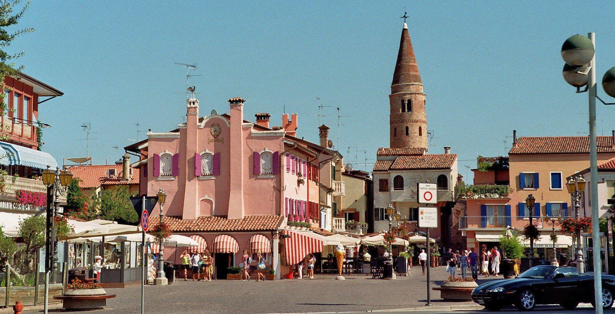 Caorle Italien Altstadt