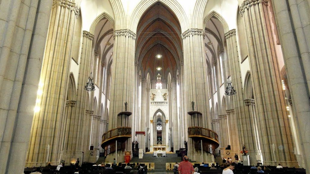 Panoramio Photo Of Brasil Sao Paulo Interior De La Catedral