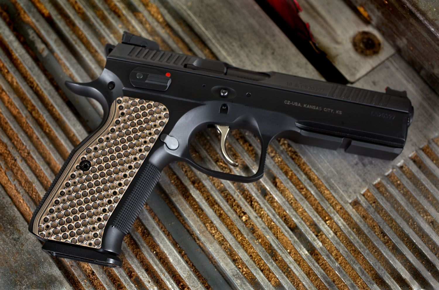 The CZ Shadow2 is a great gun  Now you can upgrade your