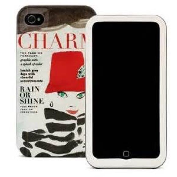 Kate Spade iPhone 4 Case New in box, never used! Fits iPhone 4/4s. kate spade Accessories Phone Cases