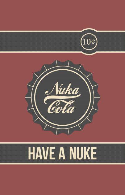 Awesome Nukacola Design On Teepublic Fallout Fan Art