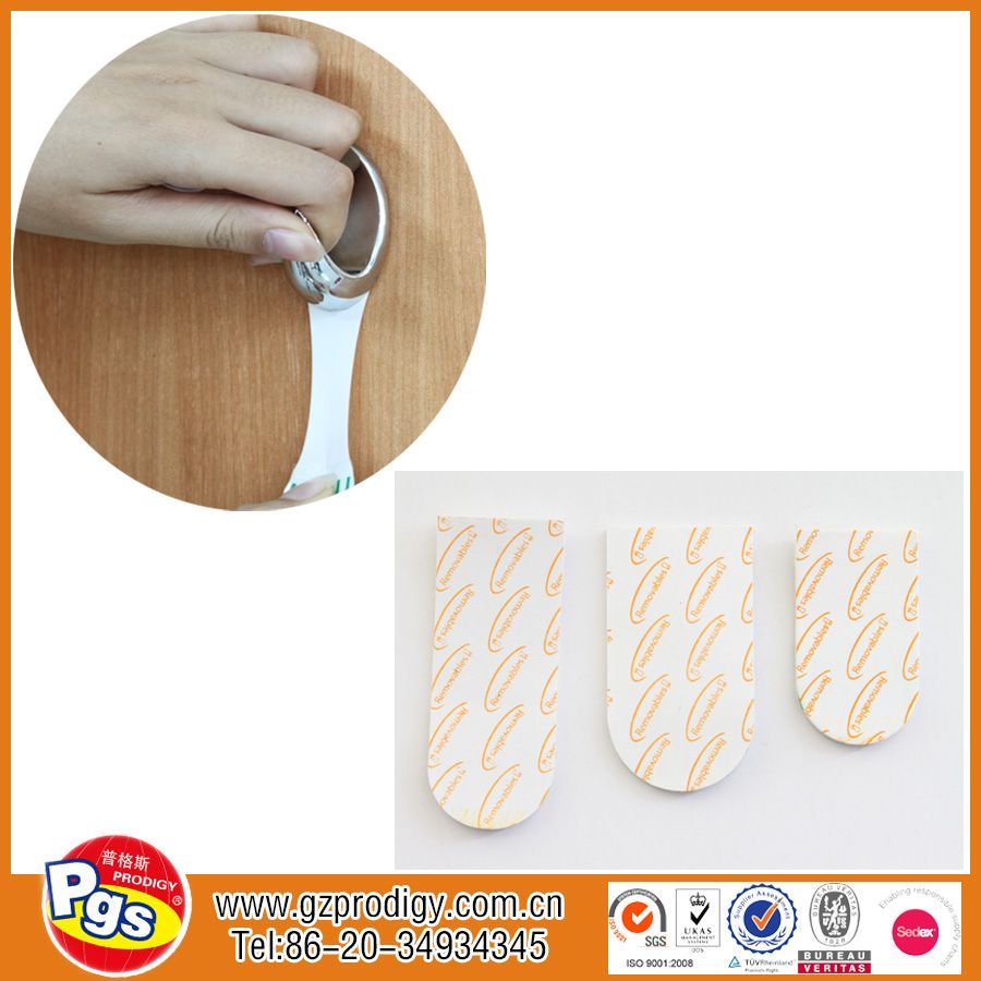 Double sided removable adhesive tape double sided sticky