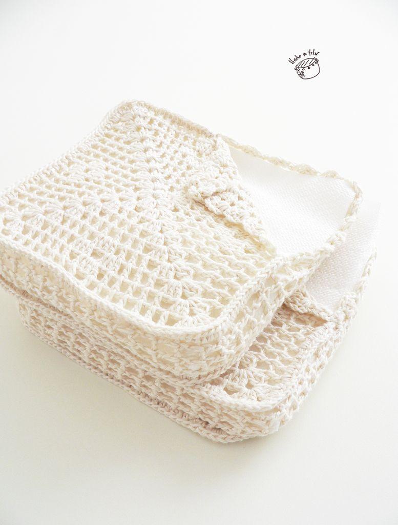 Servilletero Crochet Antiguo | Con mis manos! ... Y listo ...