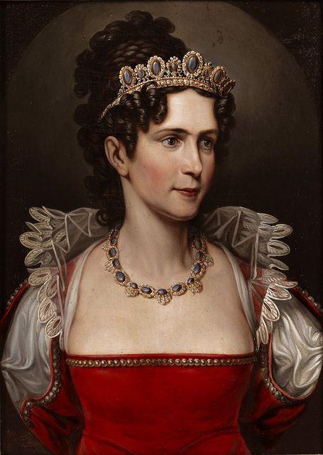 Prinzessin Caroline von Baden; spätere Königin von Bayern