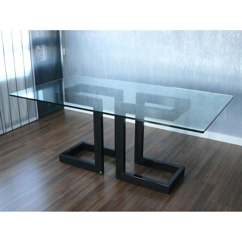 Comprar Mesa Alto Diseño Lisa De Gonzalo De Salas Online Mesas De Comedor Mesas De Vidrio Comedor Mesas De Vidrio