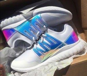 adidas tubular radial iridescent womens
