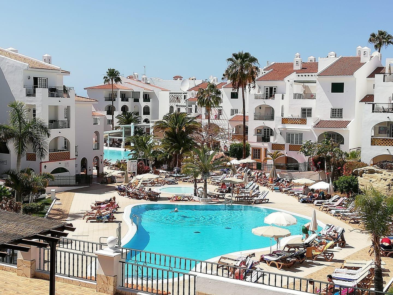 Sunset Harbour Hotel At Costa Adeje Tenerife Spain With Images Tenerife Harbor Hotel Adeje