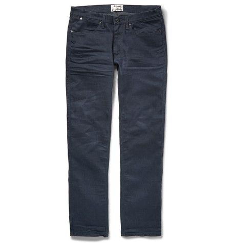 ACNE STUDIOS Max Slim-Fit Denim Jeans . #acnestudios #cloth #jeans